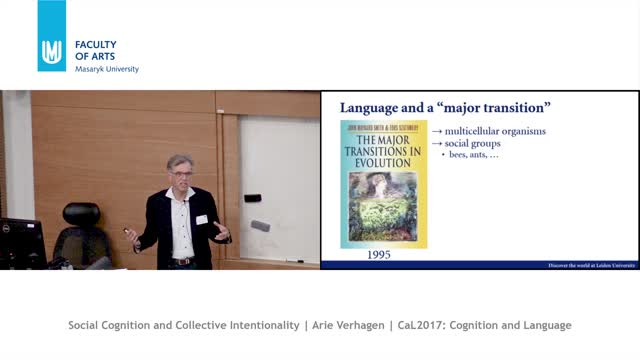 Social Cognition and Collective Intentionality - A Linguistic Perspective on their Evolution