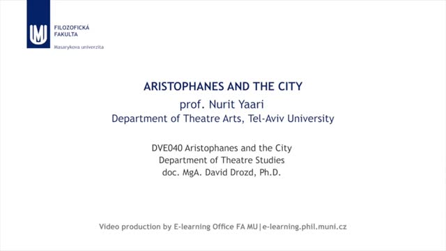 Aristophanes and the City
